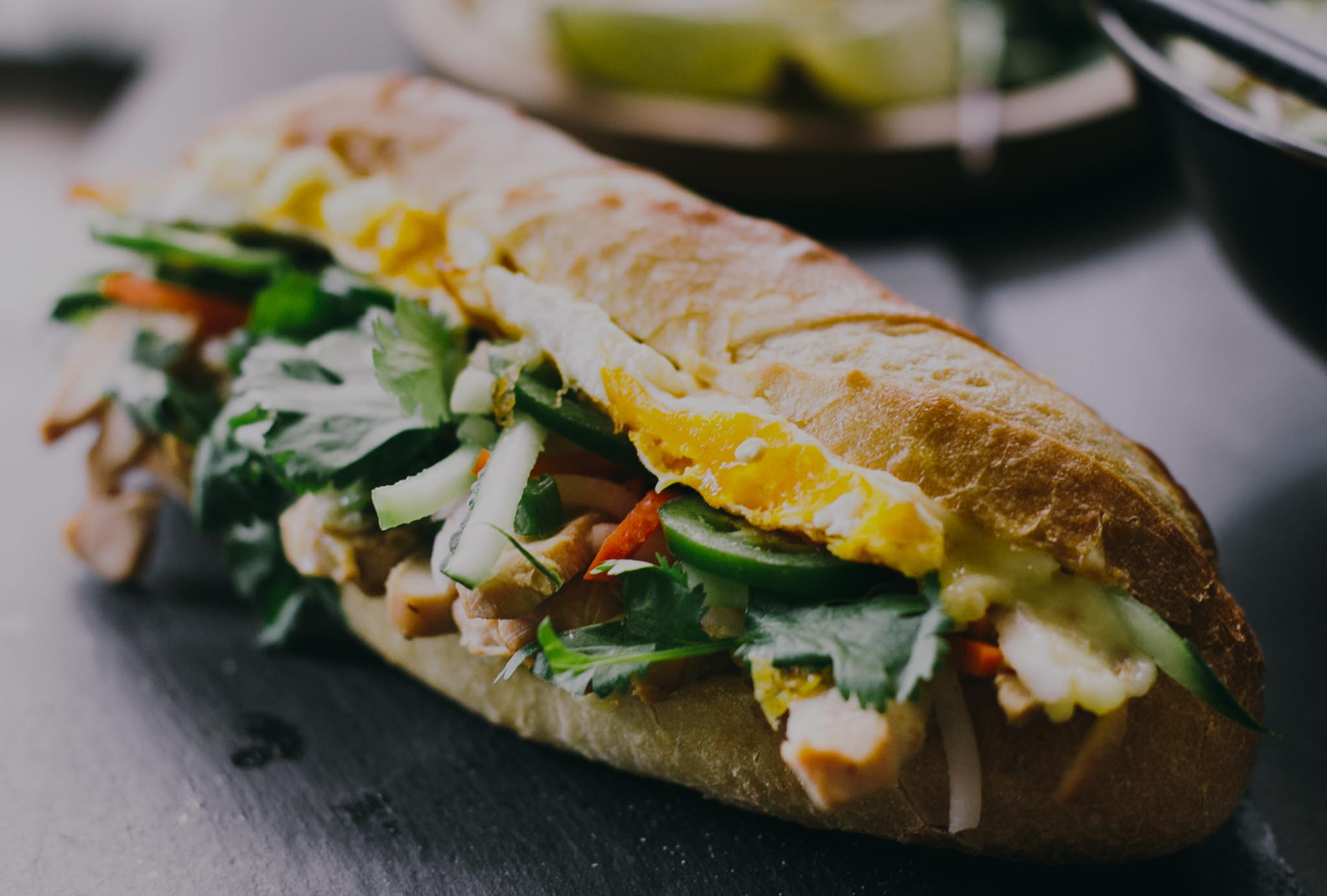 EGGS RATED BANH-MI